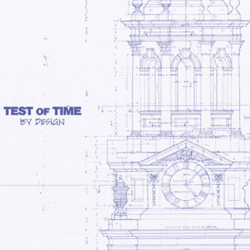 "B9R209-2 Test Of Time ""By Design"" CD Album Artwork"