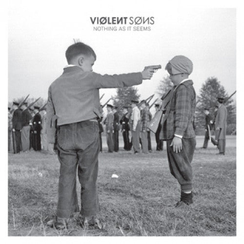 "B9R216-1 Violent Sons ""Nothing As It Seems"" LP Album Artwork"
