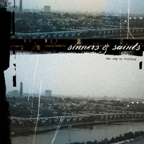 "B9R22-1 Sinners & Saints ""The Sky Is Falling"" LP Album Artwork"