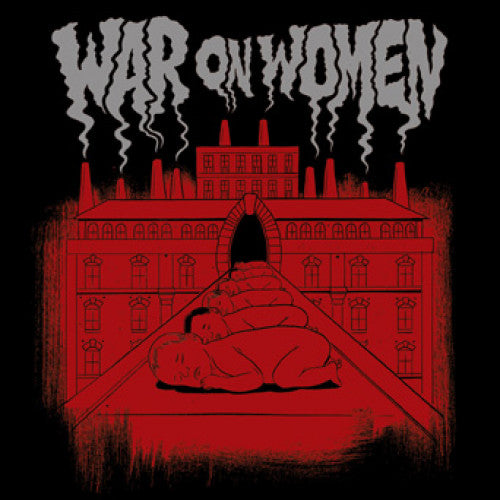 "B9R220 War On Women ""s/t"" LP/CD Album Artwork"