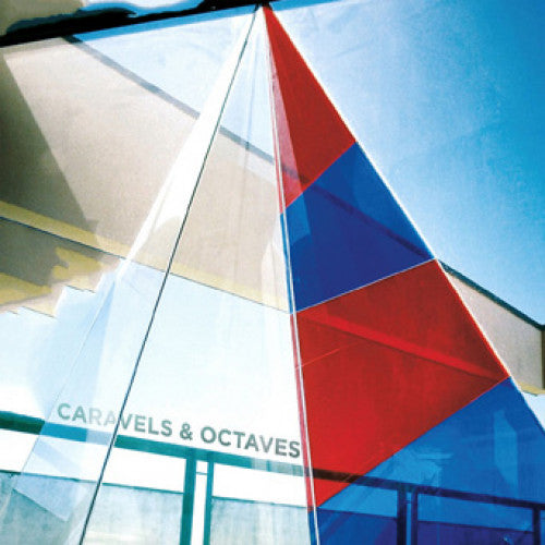"B9R224-1 Octaves / Caravels ""Split"" 12""ep Album Artwork"