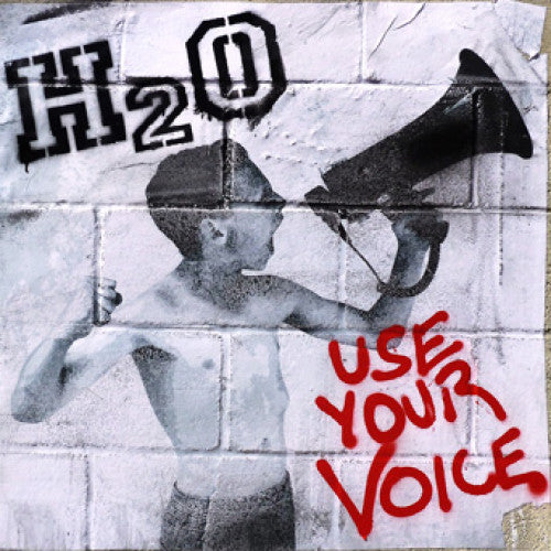 "B9R230 H2O ""Use Your Voice"" LP/CD Album Artwork"
