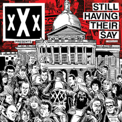 "B9R246A-1 V/A ""xXx Presents: Still Having Their Say"" LP Album Artwork"