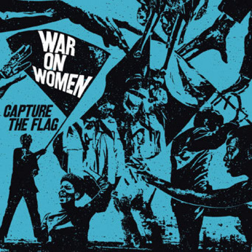 "B9R252 War On Women ""Capture The Flag"" LP/CD Album Artwork"
