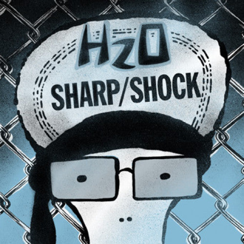 "B9R262-1 H2O / Sharp/Shock ""Split"" 7"" Album Artwork"