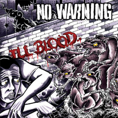 "B9R30 No Warning ""Ill Blood"" 2XLP/CD Album Artwork"