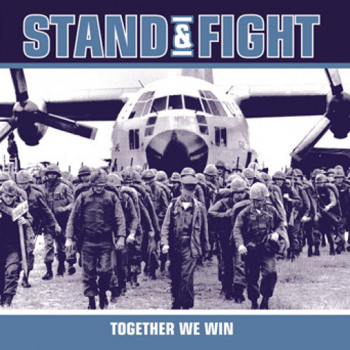 "B9R52-2 Stand & Fight ""Together We Win"" CD Album Artwork"
