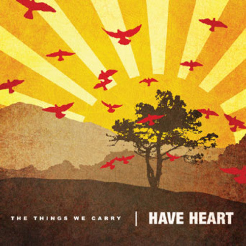 "B9R75 Have Heart ""The Things We Carry"" LP/CD Album Artwork"