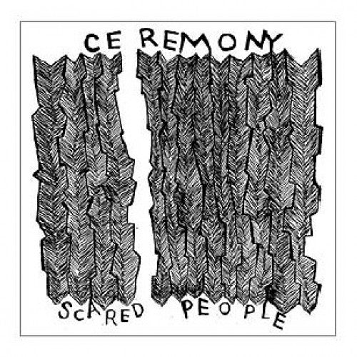 "B9R87-1 Ceremony ""Scared People"" 7""Album Artwork"