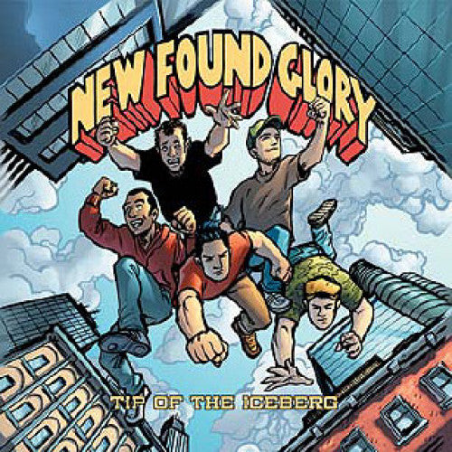 "B9R91-2 New Found Glory / International Superheroes Of Hardcore ""Takin' It Ova! / Tip Of The Iceberg"" CD Album Artwork"