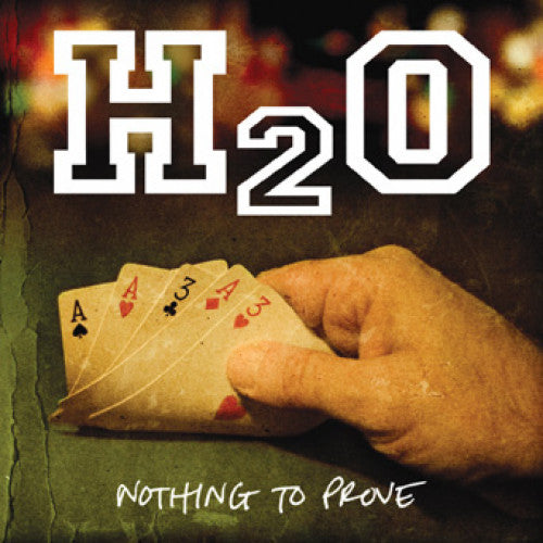 "B9R92 H2O ""Nothing To Prove"" LP/CD Album Artwork"