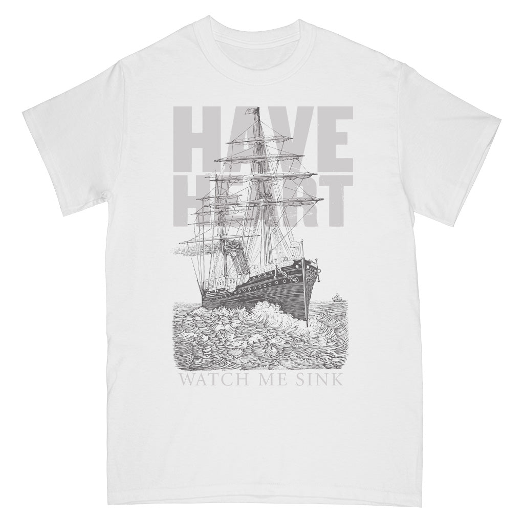 "B9RSS75S Have Heart ""Watch Me Sink"" -  T-Shirt Front"