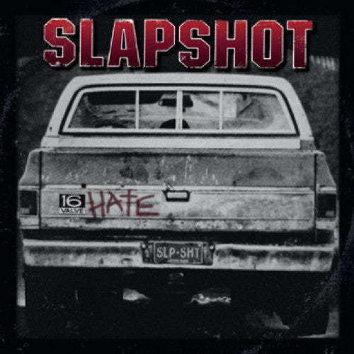 "BBR063-1 Slapshot ""16 Valve Hate"" LP - Import Album Artwork"