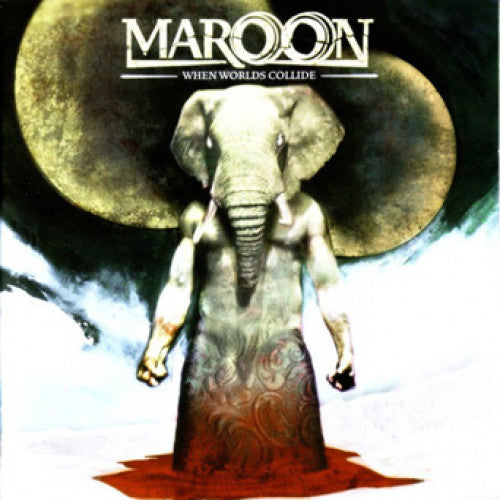 "BBR073-1 Maroon ""When Worlds Collide"" LP  Album Artwork"