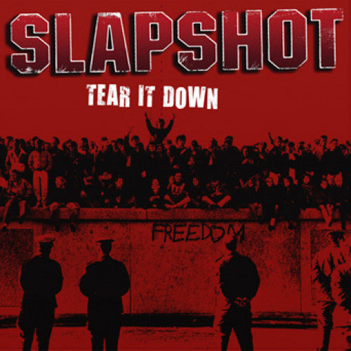 "BBR078-1 Slapshot ""Tear It Down"" 12""ep Album Artwork"
