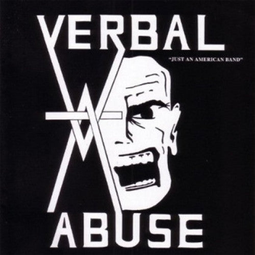 "BEER131-1 Verbal Abuse ""Just An American Band"" LP Album Artwork"