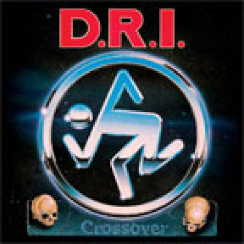 "BEER160-1 D.R.I. ""Crossover"" LP Album Artwork"
