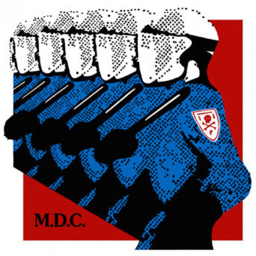 "BEER175 MDC ""Millions Of Dead Cops: Millennium Edition"" LP/CD Album Artwork"