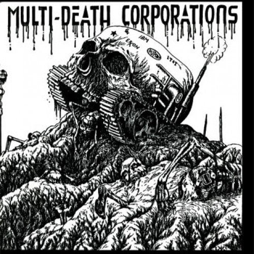 "BEER176-1 MDC ""Multi-Death Corporations"" 7"" Album Artwork"