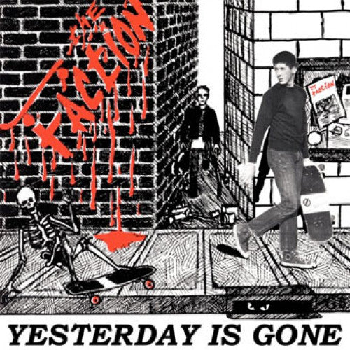 "BEER192-1 The Faction ""Yesterday Is Gone"" 12""ep Album Artwork"