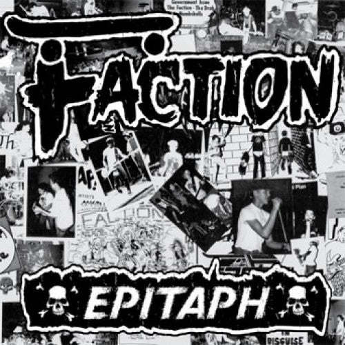"BEER196-1 The Faction ""Epitaph"" 12""ep Album Artwork"