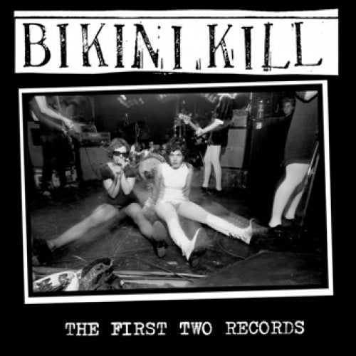 "BIKR004-2 Bikini Kill ""The First Two Records"" CD Album Artwork"