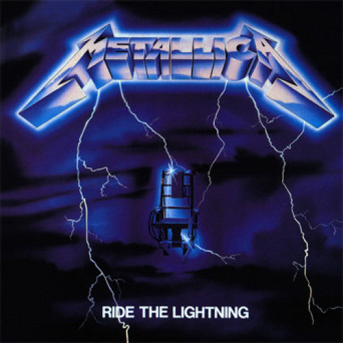 "BKN04-1 Metallica ""Ride The Lightning Remastered Edition"" LP Album Artwork"
