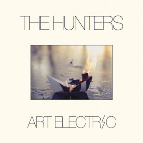 "BLANR054-1 The Hunters ""Art Electric"" LP Album Artwork"