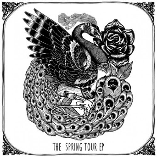 "BLANR060-1 The Color And Sound ""The Spring Tour"" 12""ep Album Artwork"