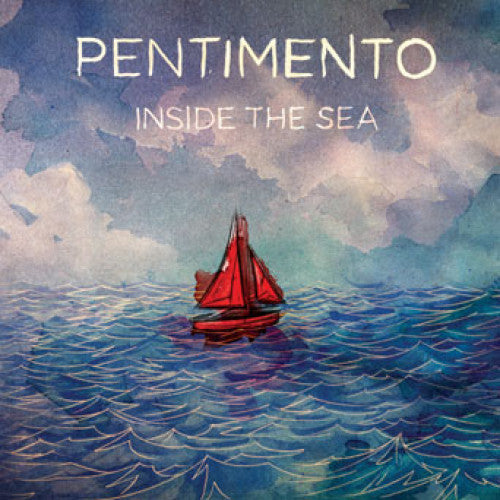 "BLANR068-2 Pentimento ""Inside The Sea"" CD Album Artwork"