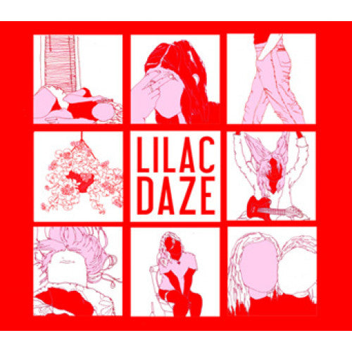 "BLANR080-2 Lilac Daze ""s/t"" CD Album Artwork"
