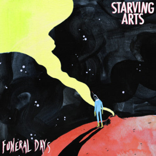 "BLANR096-1 Starving Arts ""Funeral Days"" 7"" Album Artwork"