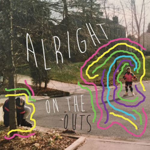 "BLANR107-4 Alright ""On The Outs"" Cassette Album Artwork"