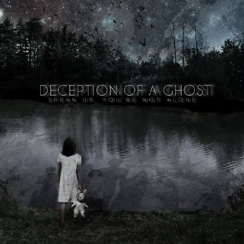 "BT003-2 Deception Of A Ghost ""Speak Up, You're Not Alone"" CD Album Artwork"