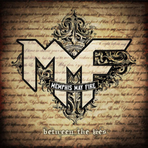 "BT009-2 Memphis May Fire ""Between The Lies"" CD Album Artwork"