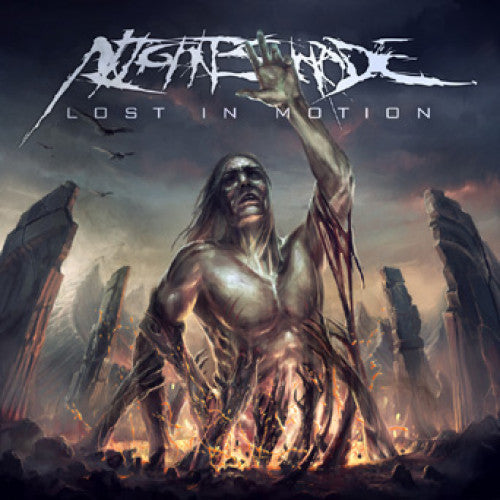"BT014-2 Nightshade ""Lost In Motion"" CD Album Artwork"
