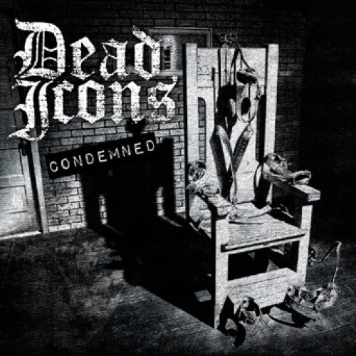 "BT018/A-1/2 Dead Icons ""Condemned"" LP/CD Album Artwork"