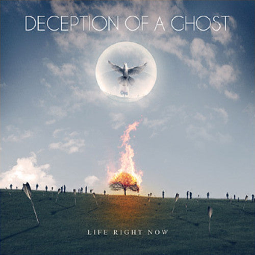 "BT023-2 Deception Of A Ghost ""Life Right Now"" CD Album Artwork"