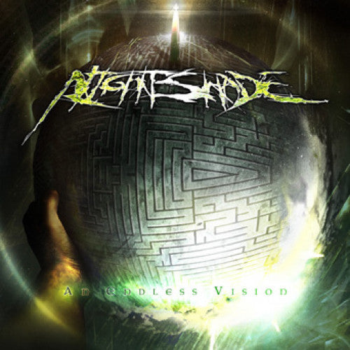 "BT031-2 Nightshade ""An Endless Vision"" CD Album Artwork"