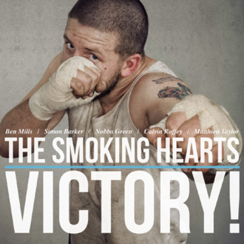 "BT034-2 The Smoking Hearts ""Victory!"" CD Album Artwork"