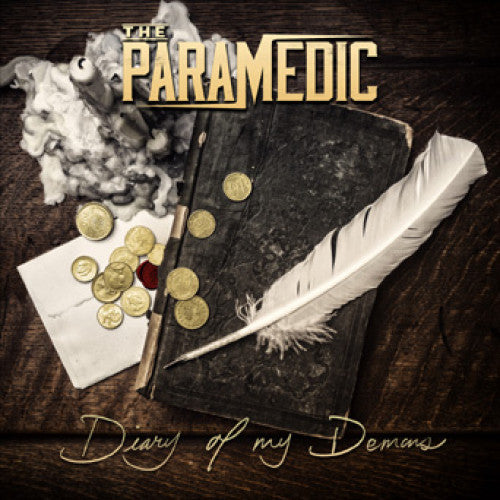 "BT037-2 The Paramedic ""Diary Of My Demons"" CD Album Artwork"