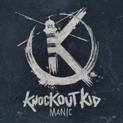 "BT045 Knockout Kid ""Manic"" LP/CD Album Artwork"
