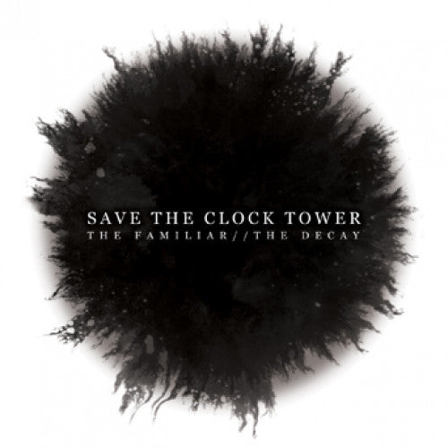 "BT049-2 Save The Clock Tower ""The Familiar//The Decay"" CD Album Artwork"