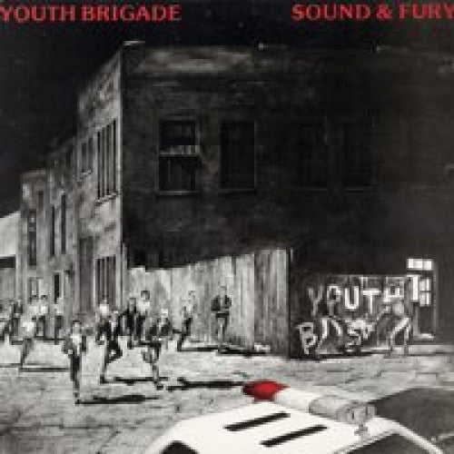 "BYO002B-1 Youth Brigade ""Sound & Fury"" LP Album Artwork"