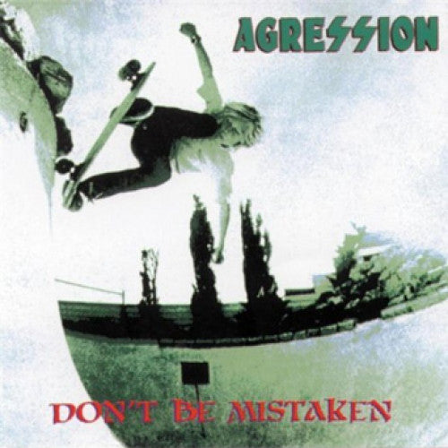 "BYO003-1 Agression ""Don't Be Mistaken"" LP Album Artwork"