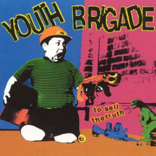 "BYO038-1 Youth Brigade ""To Sell The Truth"" LP Album Artwork"