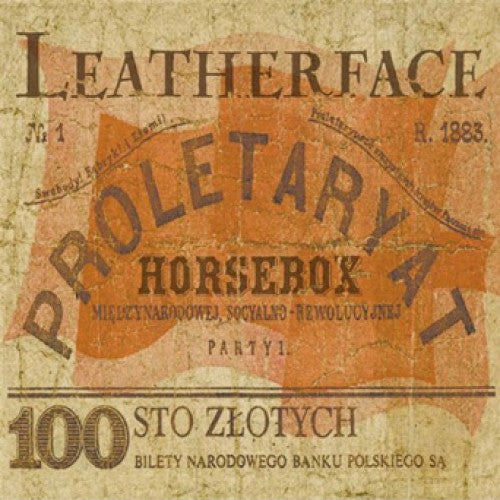 "BYO068-1 Leatherface ""Horsebox"" LP Album Artwork"