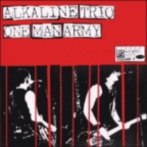 "BYO096-1 Alkaline Trio / One Man Army ""Split"" LP Album Artwork"