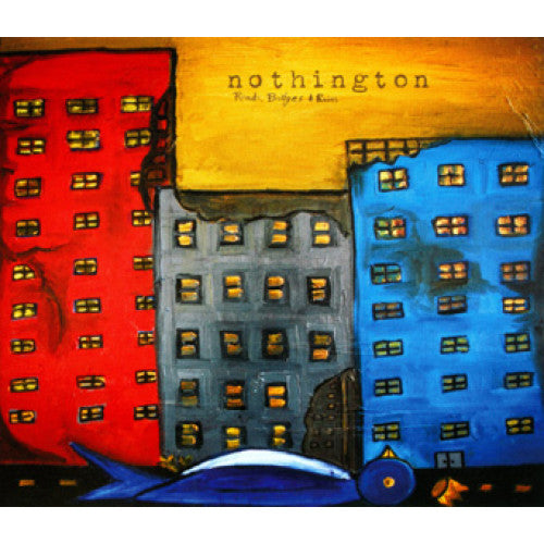 "BYO116-1 Nothington ""Roads, Bridges & Ruins"" LP Album Artwork"