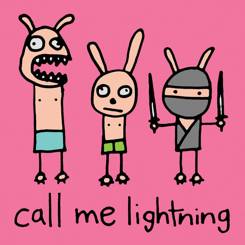 "REVST121 Call Me Lightning ""Rabbits"" -  Sticker"